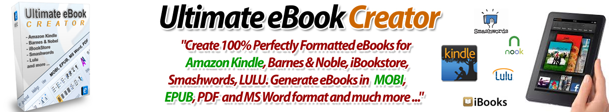 Ultimate Ebook Creator v2.5.4